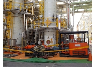 OL Plant C-210/220 Chemical cleaning
